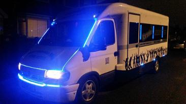 party bus hire Middlesbrough and the north east